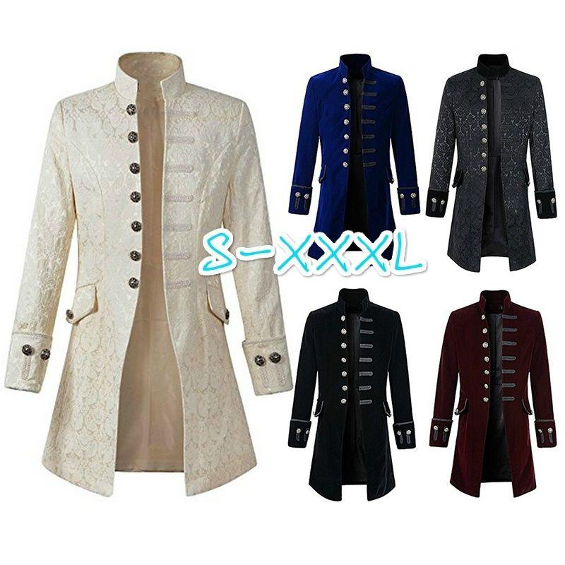 Gothique Steampunk Veste Acheter Manteau Vintage Homme q1SwXwv
