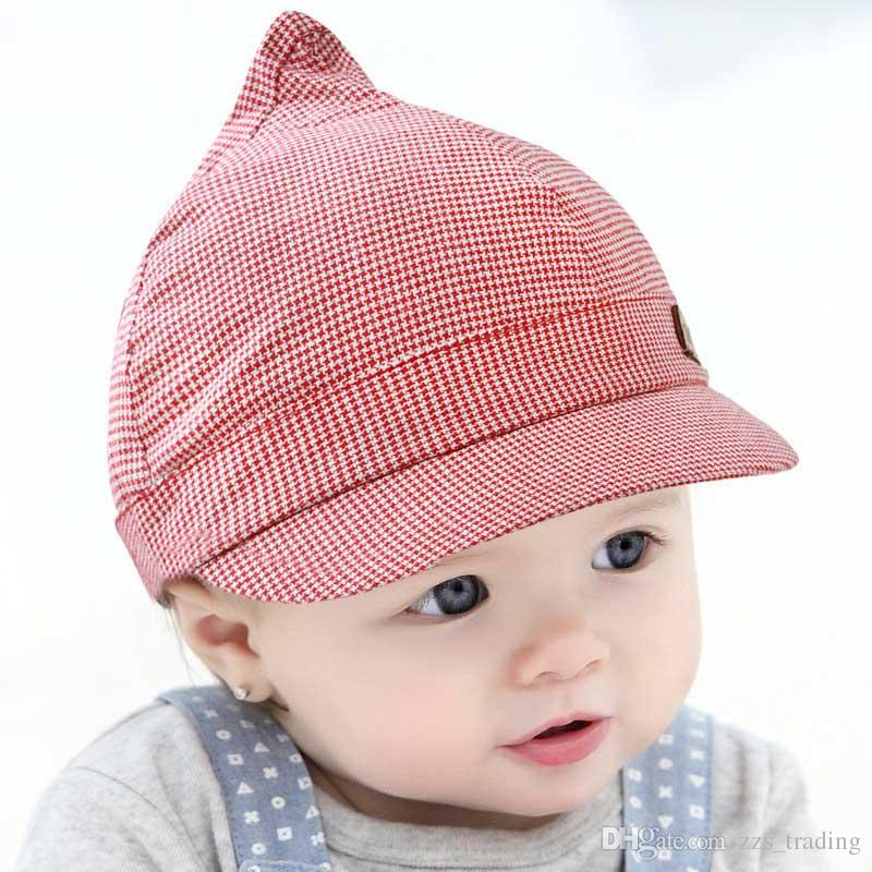 7a6a79d92629a 2019 2018 Baby Baseball Caps Baby Hats Children Infant Gorras Head Beanies  Bebes Kids Steeple Caps Photograph Prop Headwear HOT From Zzs trading