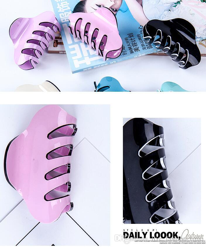 Top Quality Holding Hair Claw Section Styling Tools Hair Clip Clamps Hairpins Pro Salon Fix Hair Hairdressing Tool Women Headband LFT57633