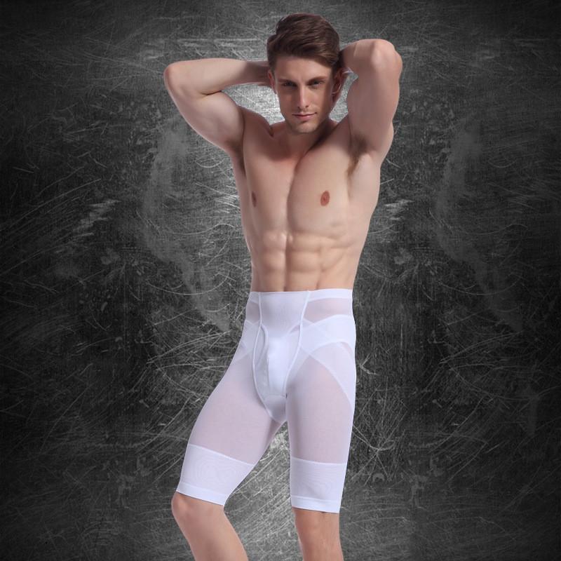 d113b3c099 2019 Men Butt Lifter Pants Shapewear Belly Control Slimming Legs ...