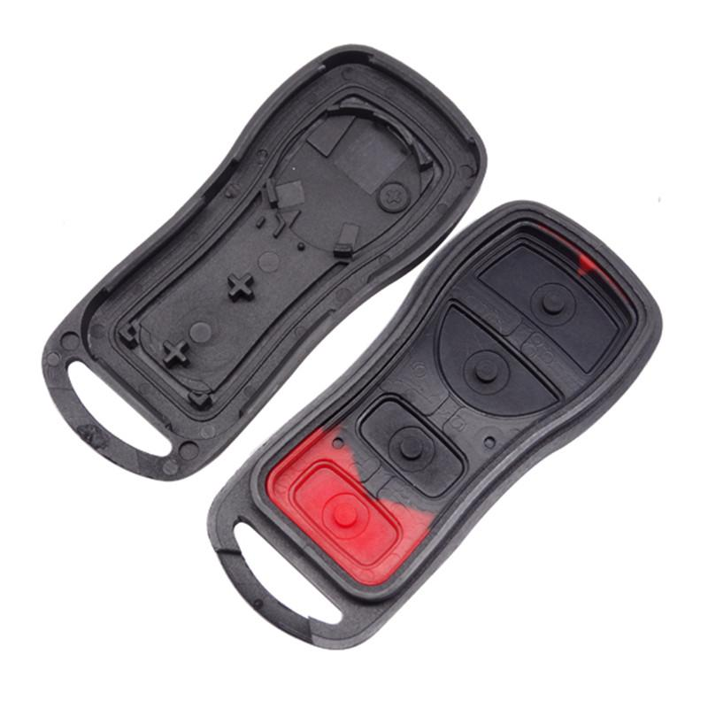 High Quality New Nissan 3+1 Button Replacement Case for Nissan Sentra Remote Key Blank Shell Fob Cover