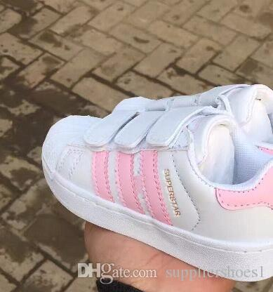 5323bf6352f 2018 SELLING NEW STAN SMITH SNEAKERS CASUAL LEATHER Children Shoes ...