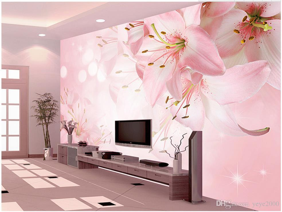 Beautiful Scenery Wallpapers Floral Flowers Lily Background Wall ...
