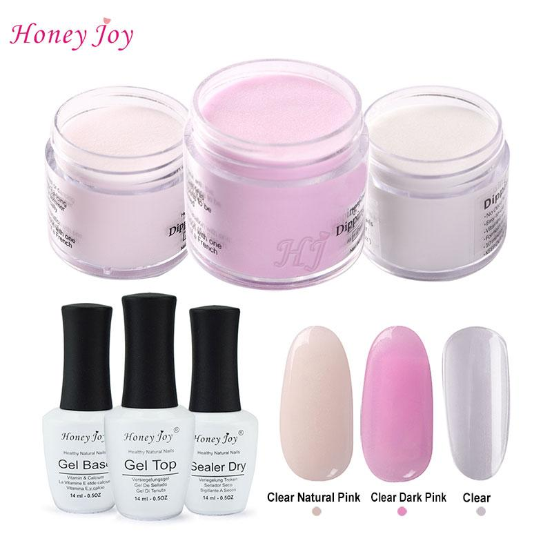6 In 1 French Pink Tool Kits 28g/Box Dipping Powder Without Lamp ...