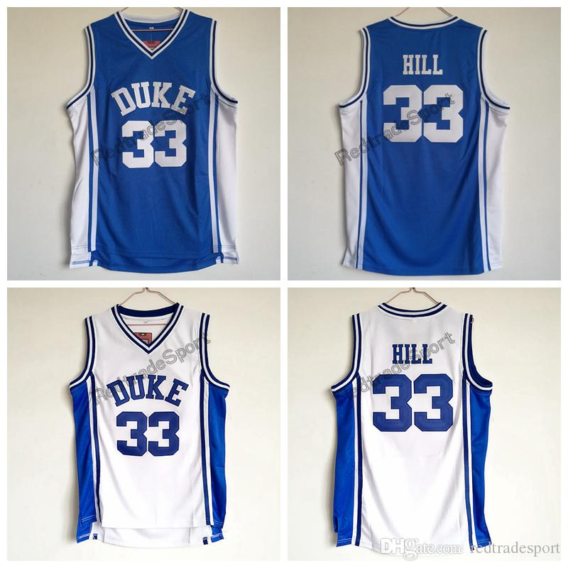 b0be6117f0d 2019 Mens Vintage Duke Blue Devils Grant Hill  33 College Basketball Jersey  Cheap V Blue Grant Hill Stitched Basketball Shirts From Redtradesport