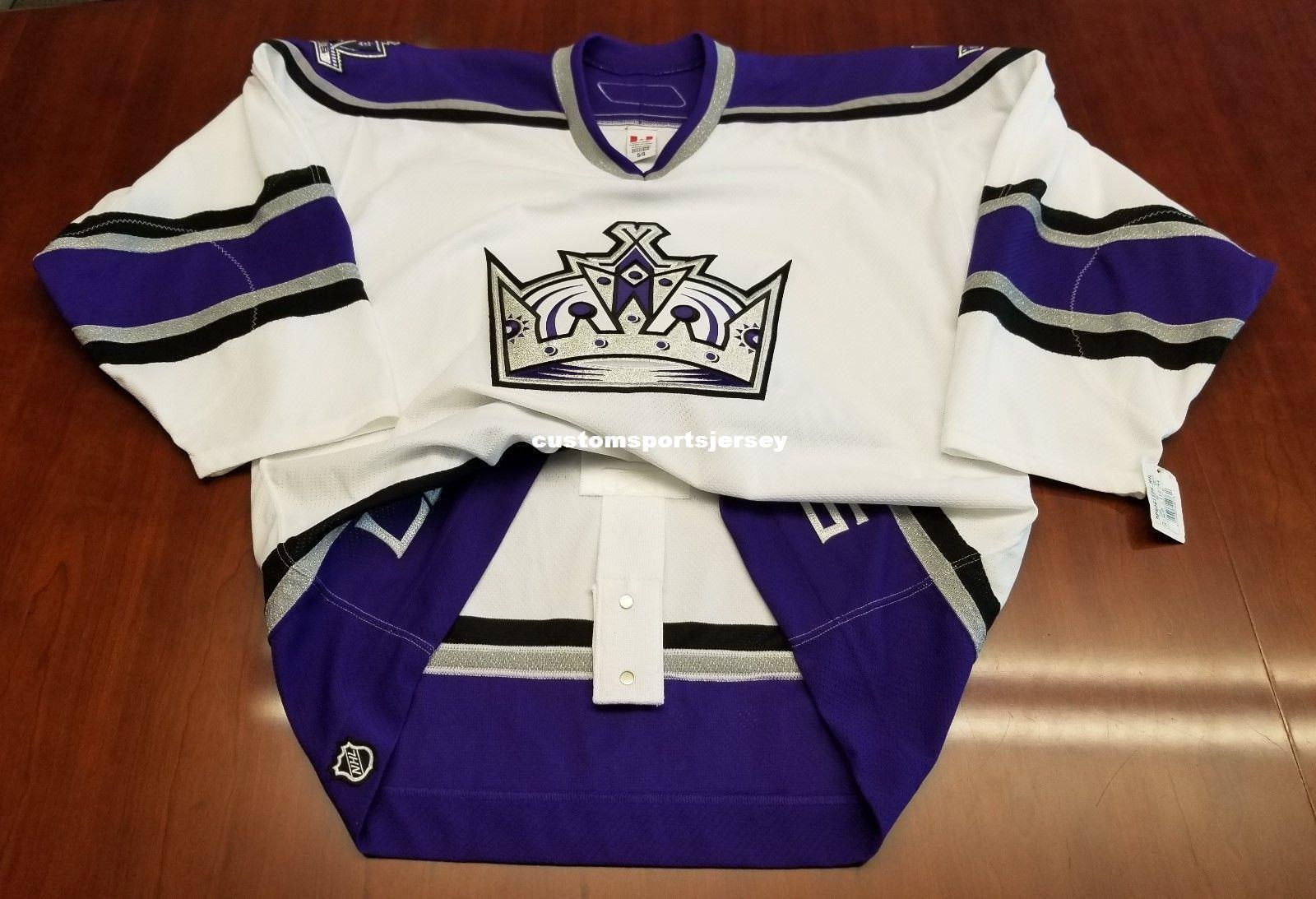 Cheap Custom Los Angeles Kings Vintage 6100 Pro CCM Jersey Stitched ... 9081f989b