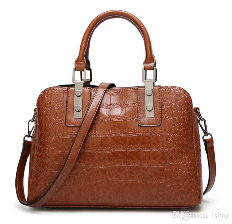 ec922718ee3a Fashionable Women S Bag 2018 Summer New Crocodile Lady Hand Bag Fashion  Single Shoulder Carry On Bag Travel Ladies Handbag Wholesale Handbags On  Sale ...