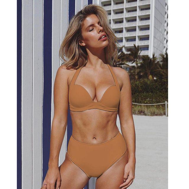 c0750fa94d191 TeLaura Sexy High Waist Bikini Set Swimwear Women Swimsuit Push Up ...