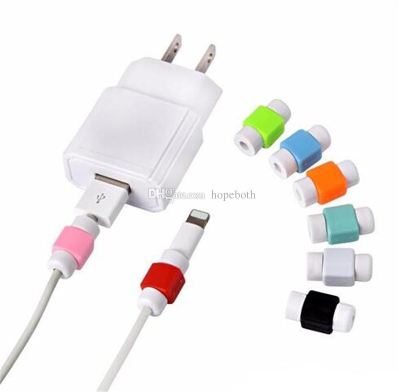 USB 케이블 이어폰 헤드 보호자 커넥터 포트 보호 미니 케이스 커버 아이폰 4 5 6 7 플러스 삼성 노트 7 용 LETV 화웨이