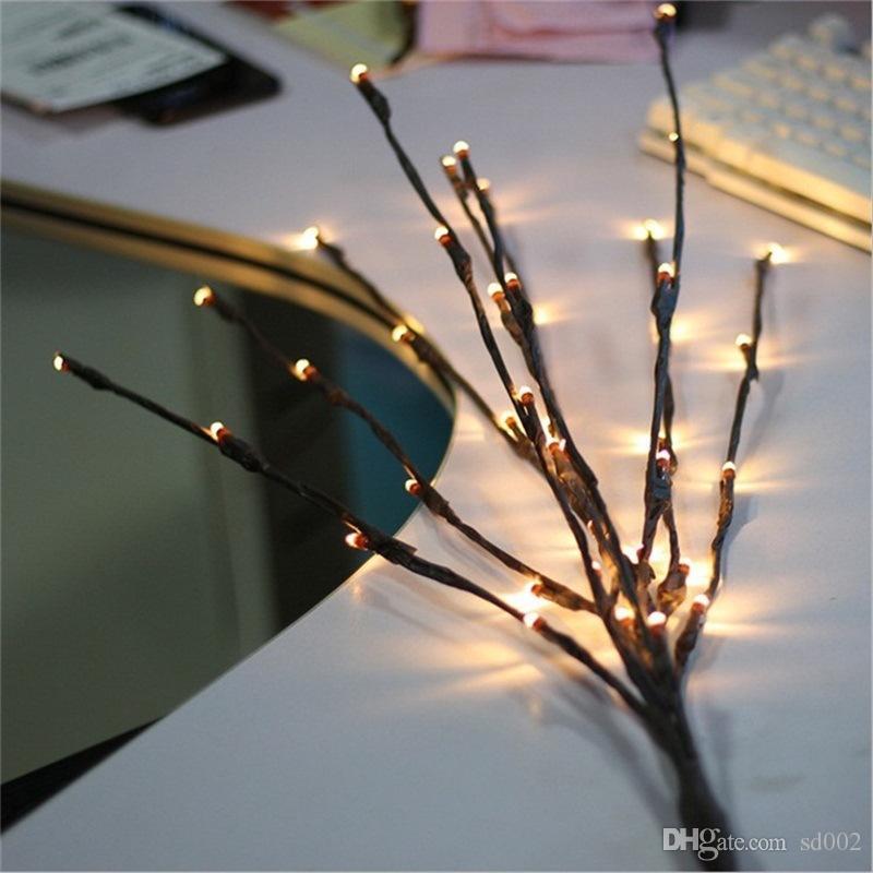 Artikel Weihnachtsfeier.Wohnkultur Zweig Licht Beliebte Weihnachtsfeier Garten Romantische Lampe Neuheit Artikel Led Willow Exquisite Lichter Leichte 8 8 Mt Jj