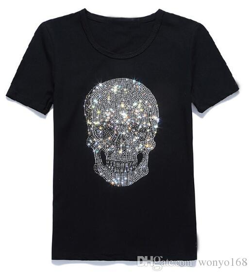 11b83fb2 Brand Designer New Style T Designer T Shirt Skull Marble 3d Printed Brand  Tshirt For Men Women Casual Tees Short Sleeved Cotton T Shirt A T Shirts  Fun T ...