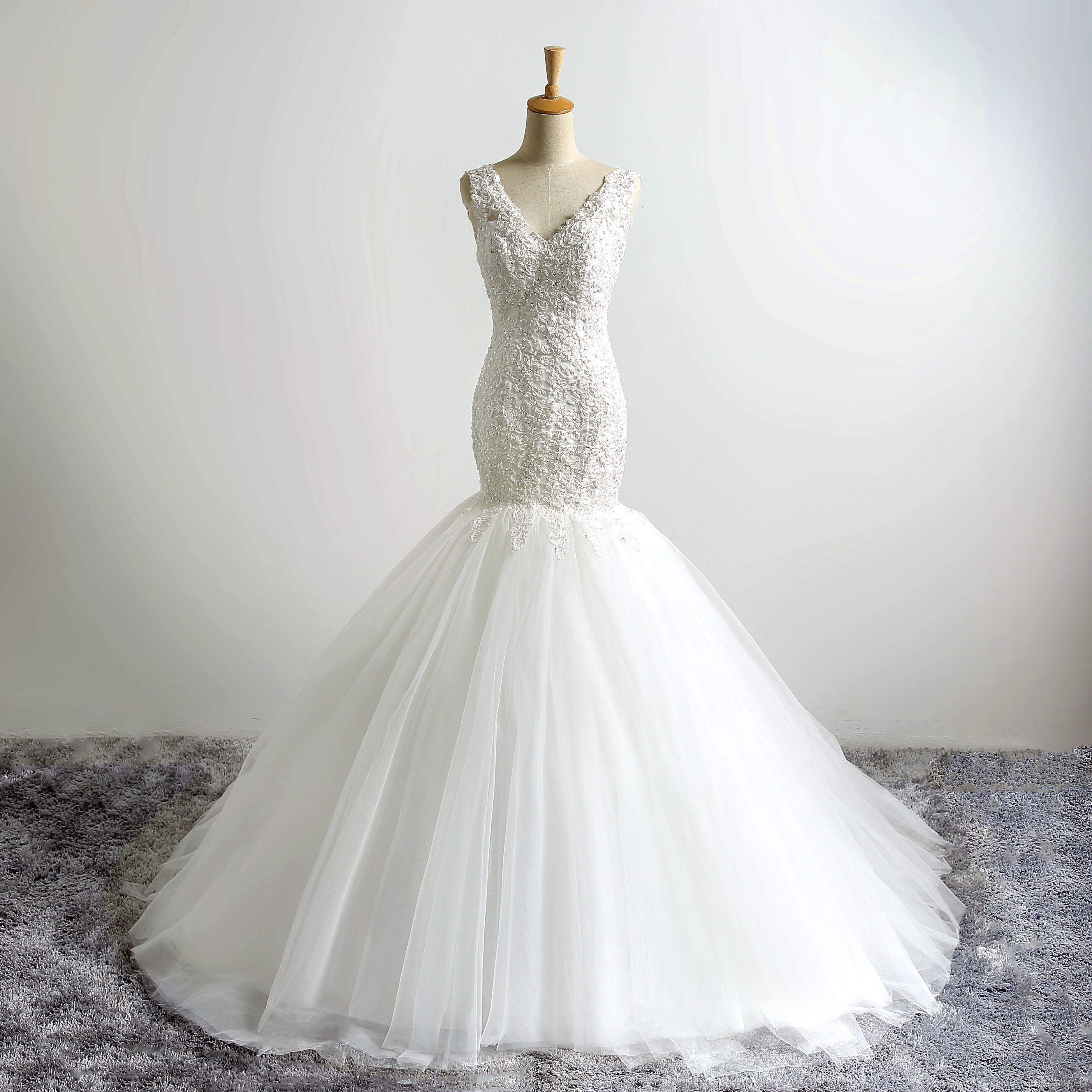 Cheap Modern Dress Patterns Free Discount Berta Beads Wedding Dresses df84d6d1042d