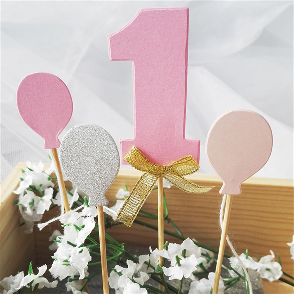 2018 New Arrival Glitter Numbers Personalized Cake Topper Kit ...