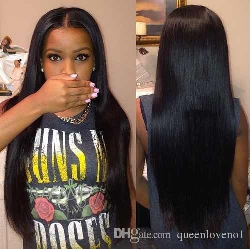 8A brasiliani dell'onda del corpo 3 pacchi vergini con 4x4 chiusura del merletto non trattata capelli umani di Remy tessono la doppia trama nera naturale