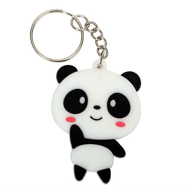 Women Bag Pendant Auto Key Ring Panda Keychain Car Key Chain Fashion Keyfob  Cool Jewelry Cute Creative Gift UK 2019 From Caqc1994 40a3c7fea8
