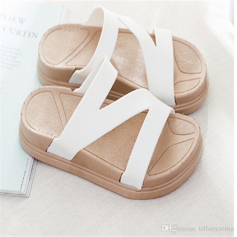 2018 chinelos feminino2018 verão nova moda desgaste casual sandálias antiderrapantes chinelos estudante chinelos