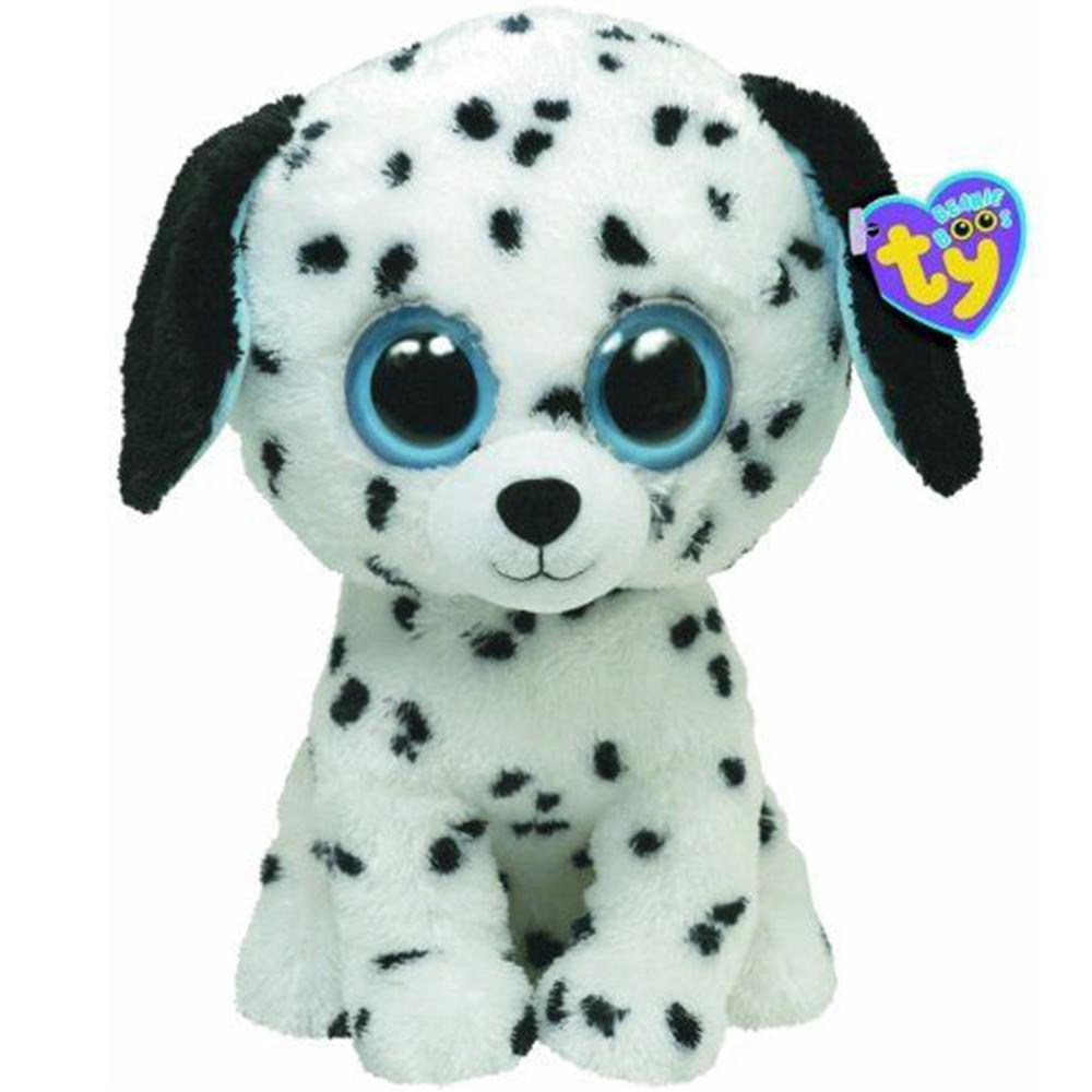 a6555e6e136 Pyoopeo Ty Beanie Boos 6 15cm Fetch the Dalmatian Plush Regular Big-eyed  Stuffed Animal Collectible Dog Doll Toy with Heart Tag Stuffed   Plush  Animals .