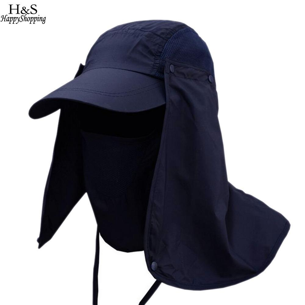 2019 Hunting Flap Sun Face Fishing Camping Wide Mosquitos Climbing Neck  Brim Men Women Travel Cap Hiking Protector Big Hat From Comen d2007dd8b9df