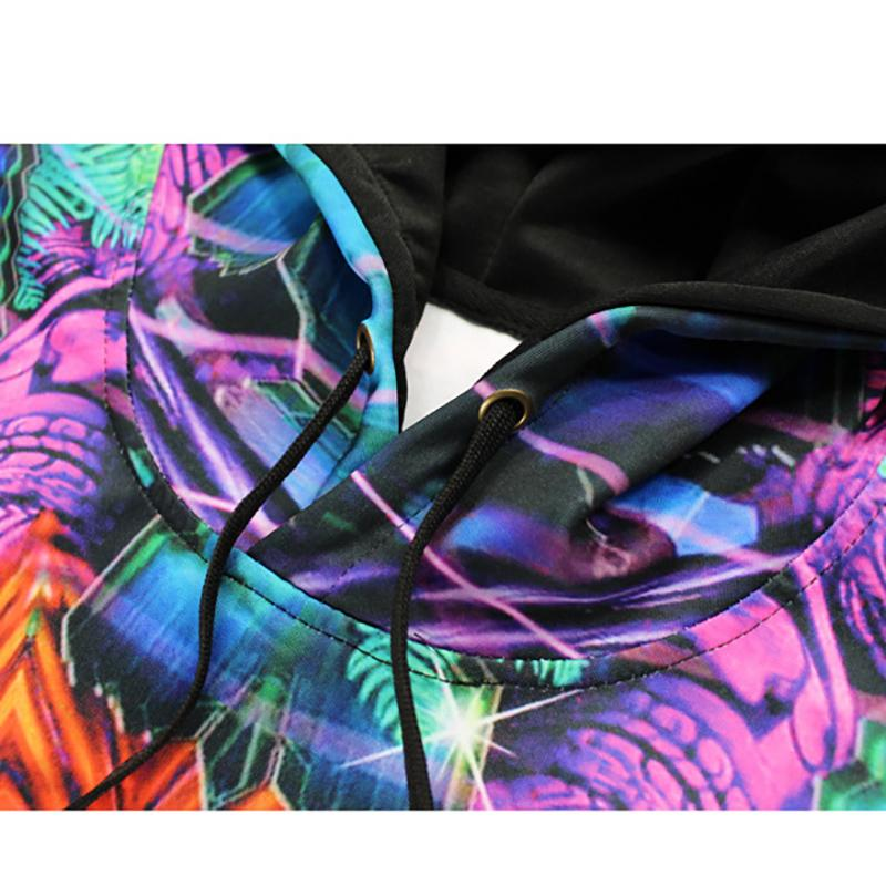 Sexy Super Camuflagem Casacos Moletom Com Capuz Roupas Pelo Ar Dos Homens Outerwear Patchwork Colorido Casacos Moletons Moda Hip Hop Roupas Masculinas