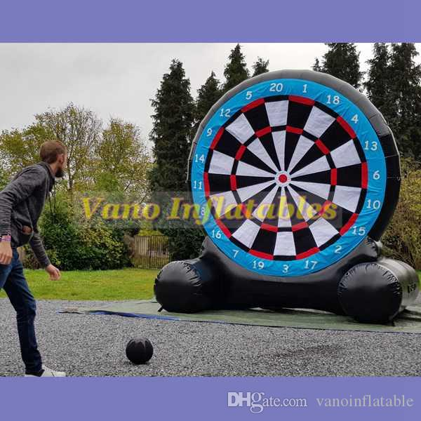 74108400a Compre Pé Inflável Dardo 3 M 4 M 5 M 6 M Pé Comercial Futebol Dardos Jogo  EUA Com Soprador Frete Grátis De Vanoinflatable
