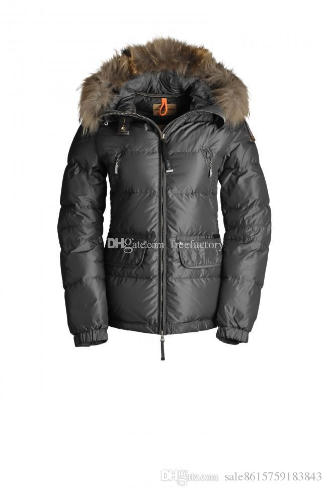 Discount 2017 With Wholesale Price Top Copy Parajumpers Women'S Alaska Down Jacket Hoodies Fur Fashionable Winter Coats Warm Parka From China | Dhgate.Com