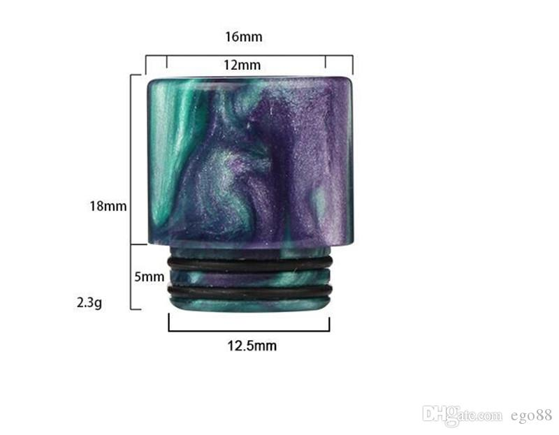 Эпоксидной смолы потека красочные широким отверстием капельного советы мундштук 810 для TFV8 Tfv8 большой танк ребенку Tfv12 с розничной упаковке