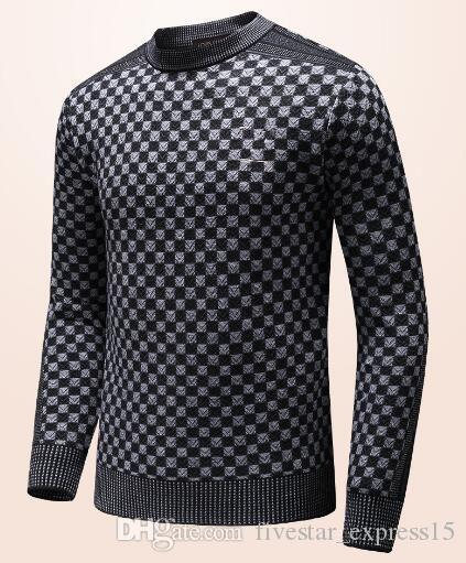 be570035587ee1 2019 Good Quality Winter Men Fashion Sweater France Paris Casual Knitted  Wear Sport Jumper Sweaters Brand Clothing Black M 3XL From  Fivestar_express15, ...