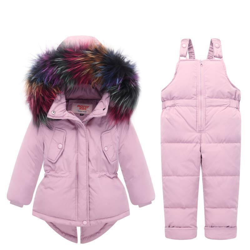 010e6fb8d 2018 New Winter Children Clothing Sets Girls Warm Parka Down Jacket ...