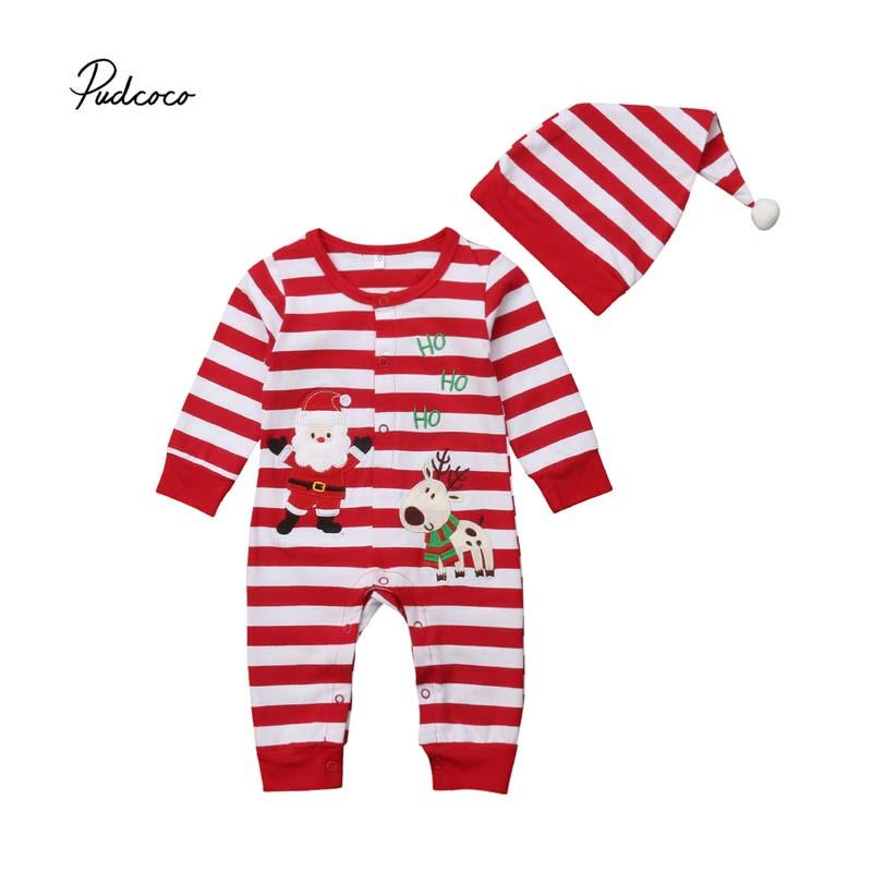 Compre Pudcoco 2018 Navidad Para Bebés 71a5a0da82fa