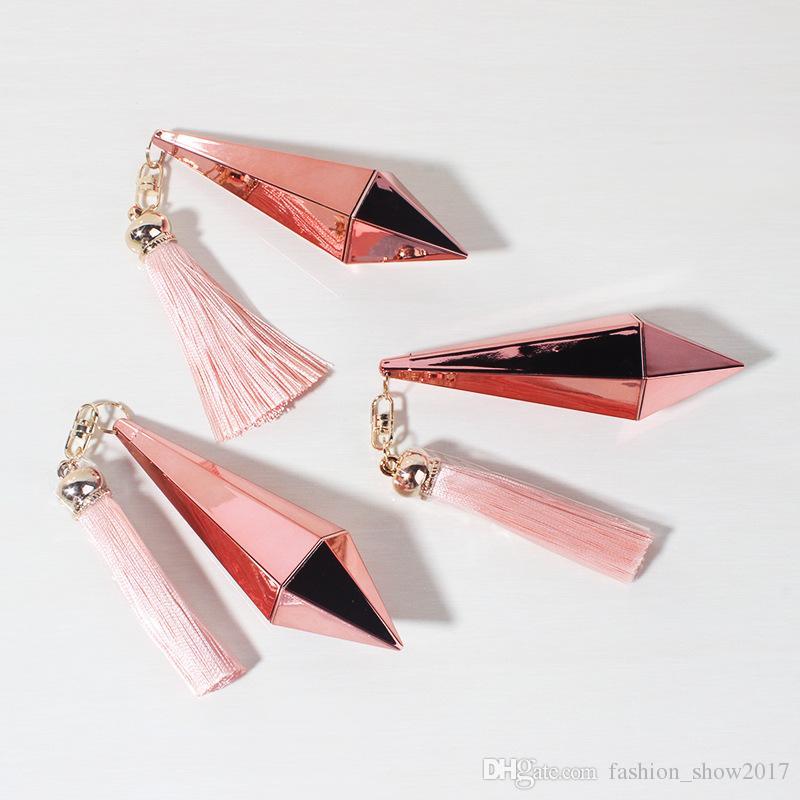 عالية الجودة أحمر الشفاه أنبوب الخالي الشفاه روج حاوية المدمجة الجمال أداة الماس شكل ديي بلسم الشفاه أنبوب 12.1 ملليمتر