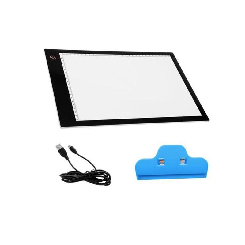 2019 Led Lighted Drawing Board A4 Light Pad Drawing Tablet Tracing