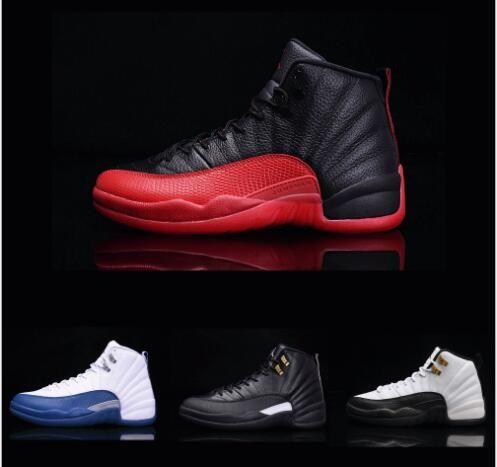 3f7b52b58c2e High Quality 12 12s OVO White Gym Red Dark Grey Basketball Shoes Men ...