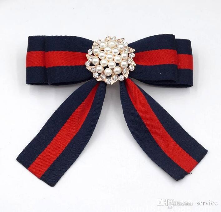2018 Broches En Tissu Pour Femmes Cravate Style Broche Broche Robe De Mariage Robe Broche Broche À La Main Accessoires Bon Cadeau