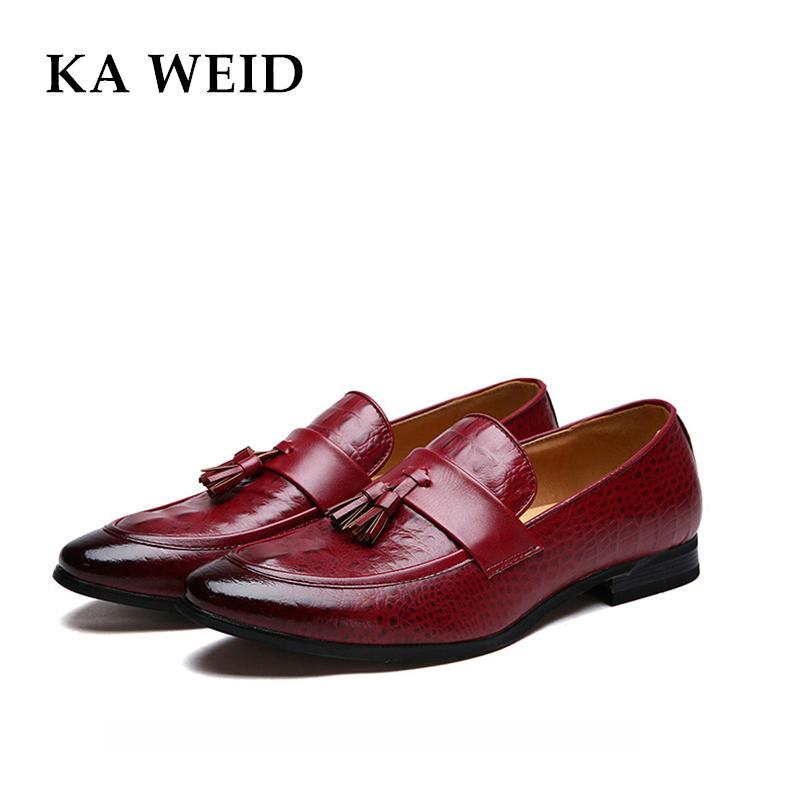 Luxury Brand Mens Pointed Toe Dress Shoes Famous Tassel Italian Footwear  Male Formal Ballet Flats Fashion Oxford Shoes For Men Silver High Heels  Birkenstock ... 6199bb25304