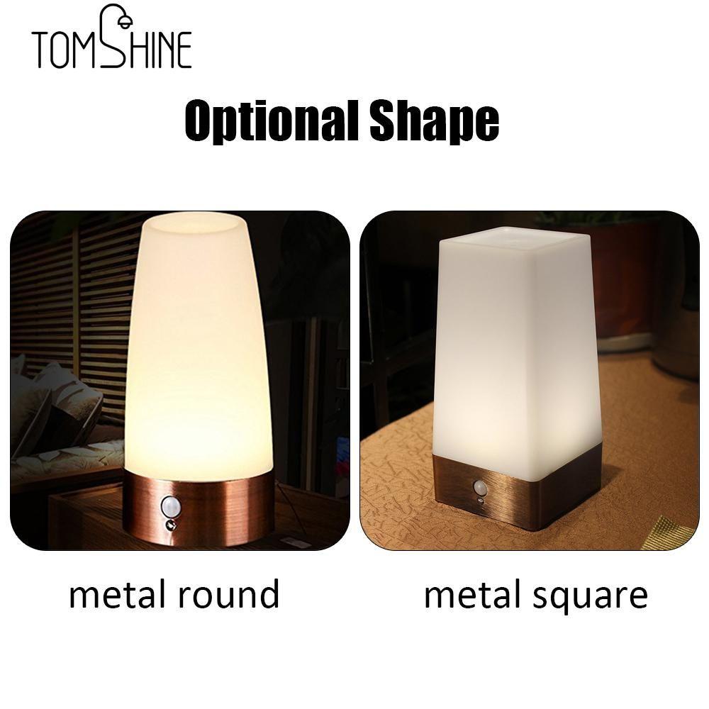 2019 Led Table Lamp Night Lamp Light Human Body Induction Light