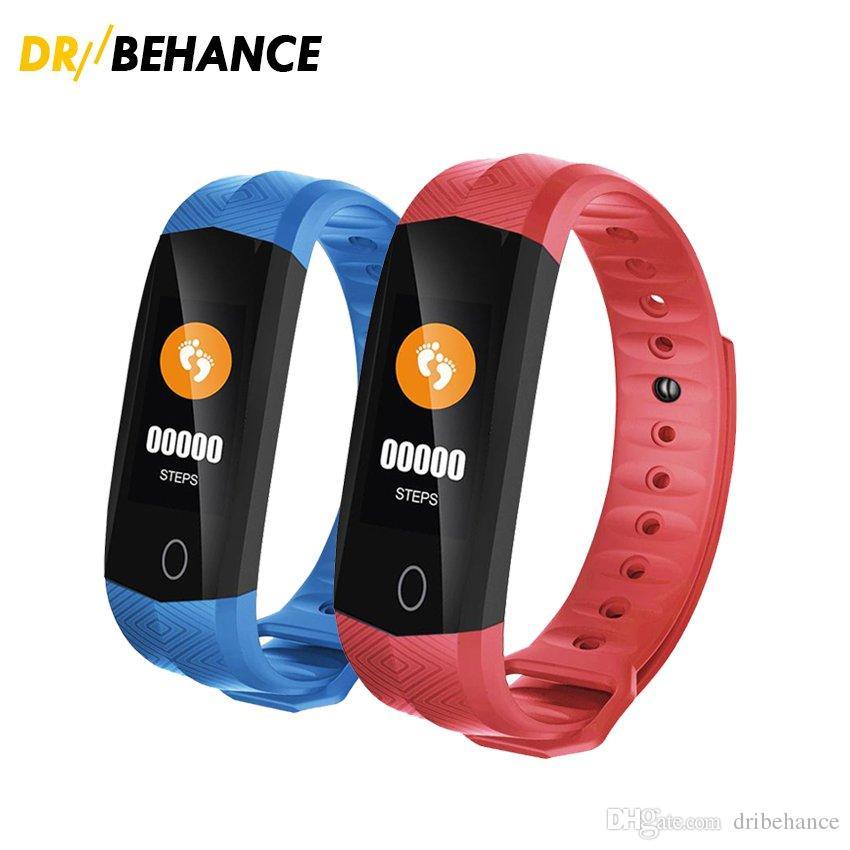 sleep monitor,pulsometer farbe screen Wasserdicht Fitnessarmband mit GPS