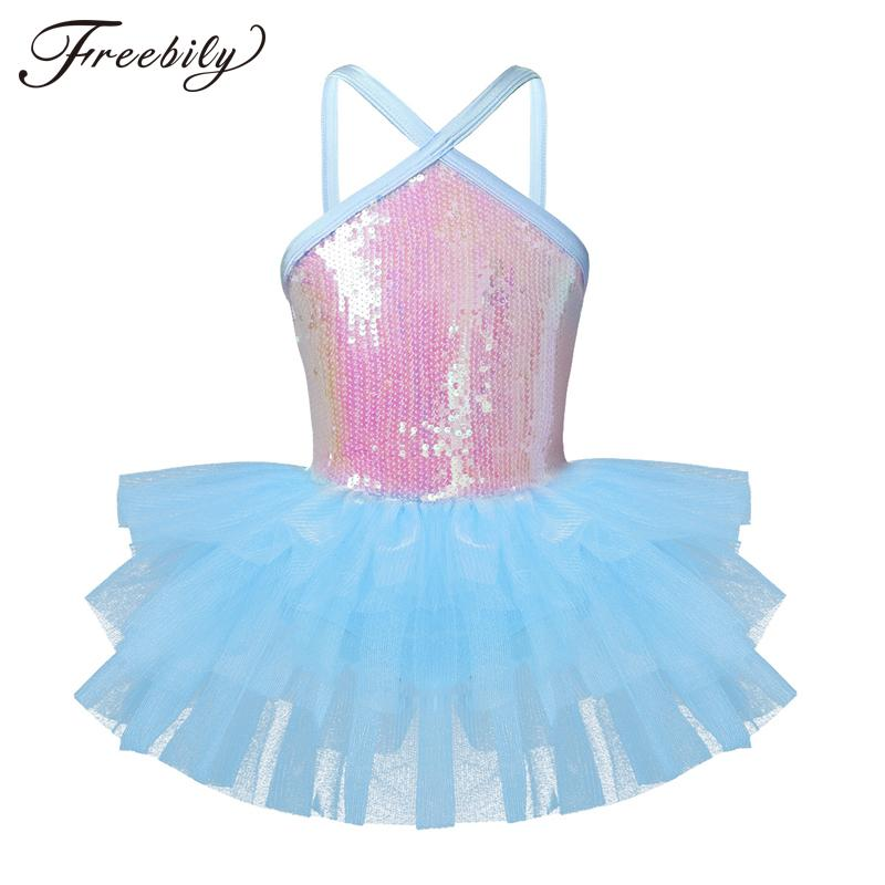 8ccd4095d Girls Professional Ballet Tutu Dress for Kids Teen Ballerina ...