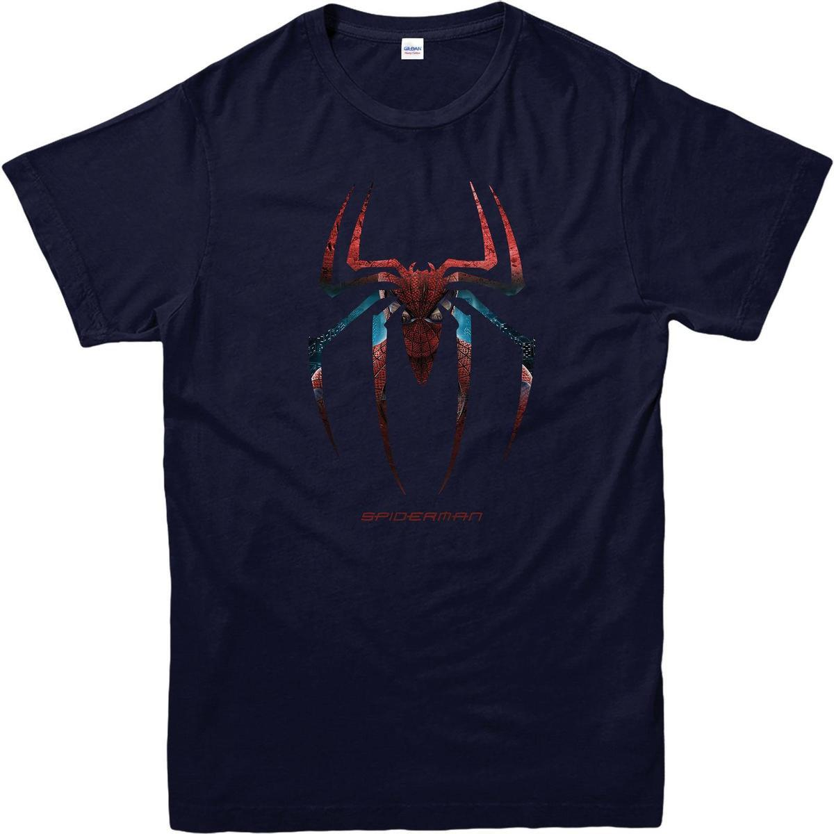 Spiderman Logo T Shirt Web Marvel Comics Superheroes SPIDERMAN Gift Designer Coolest Shirts From Godbless005 1273