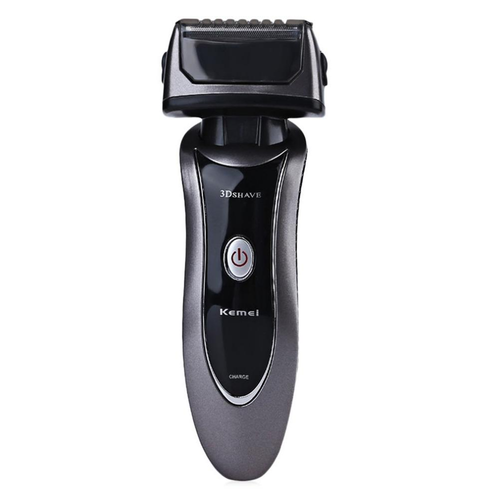 Km9001 Electronic Rechargeable Shavers For Men Triple Blade Shaving