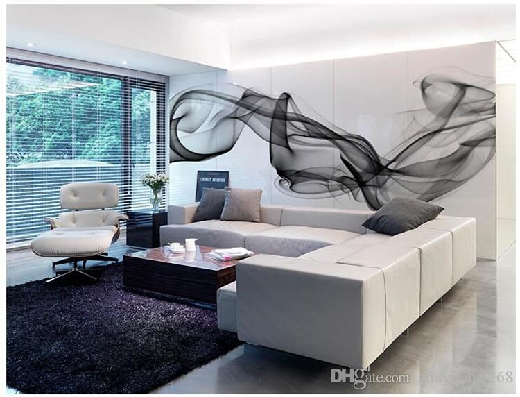 Arkadi 5d Custom 3D photo wallpaper Smoke clouds abstract artistic wall paper modern minimalist bedroom sofa TV wall mural paper painting
