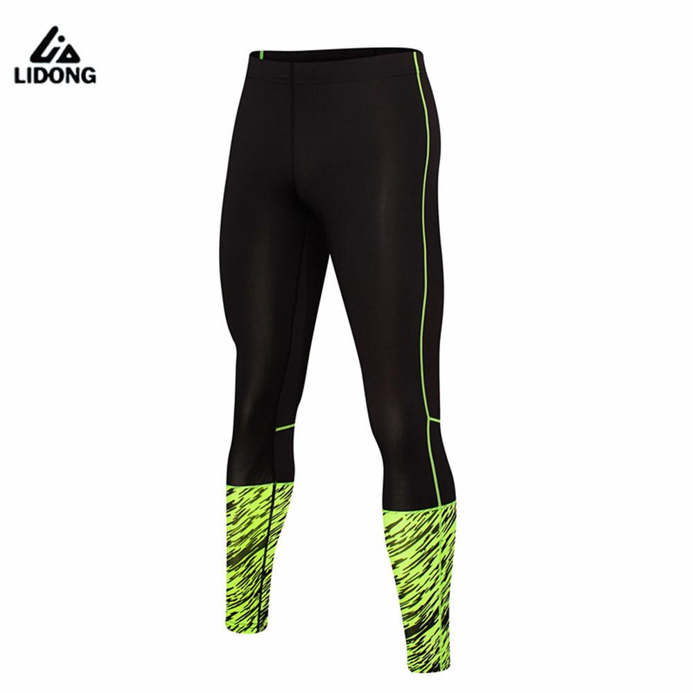 a145d8e03dad15 2019 2017 Mens Compression Pants Sports Running Tights Basketball Gym Pants  Bodybuilding Jogger Jogging Skinny Sexy Leggings Trousers From Godefery, ...