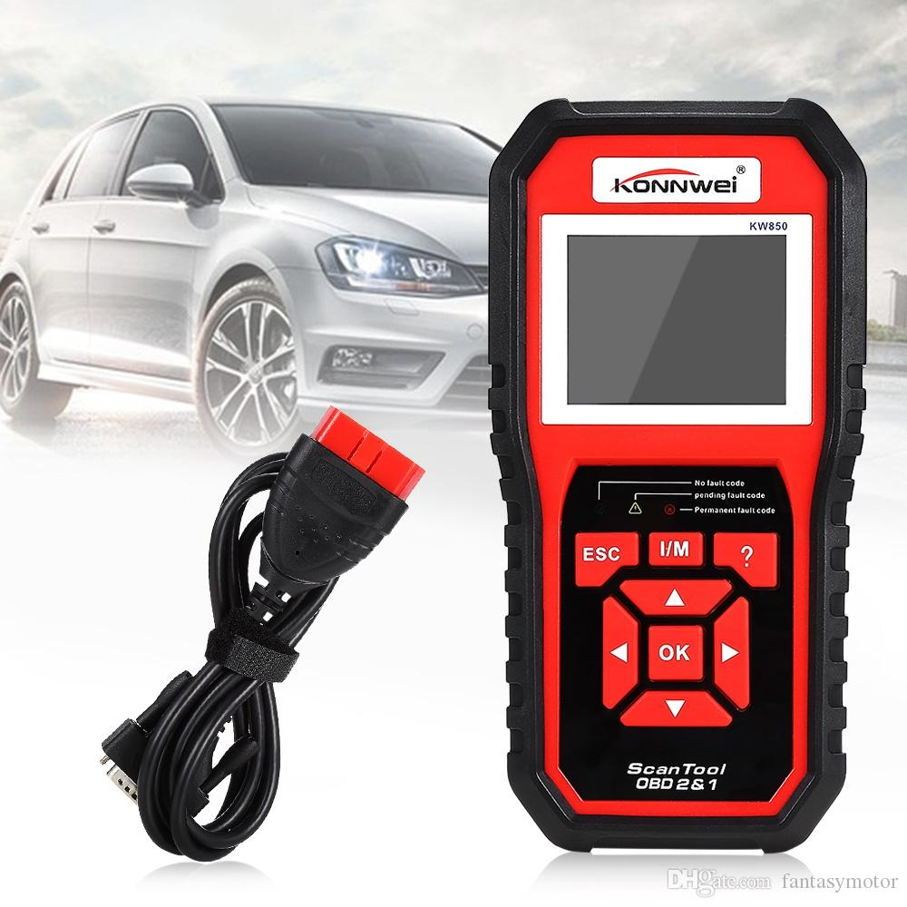 Vehicle Code Reader >> Konnwei Obd2 Auto Code Scanner Advanced Vehicle Engine Diagnostic Codes Reader Full Obdii Scan Tool Better Than Al519