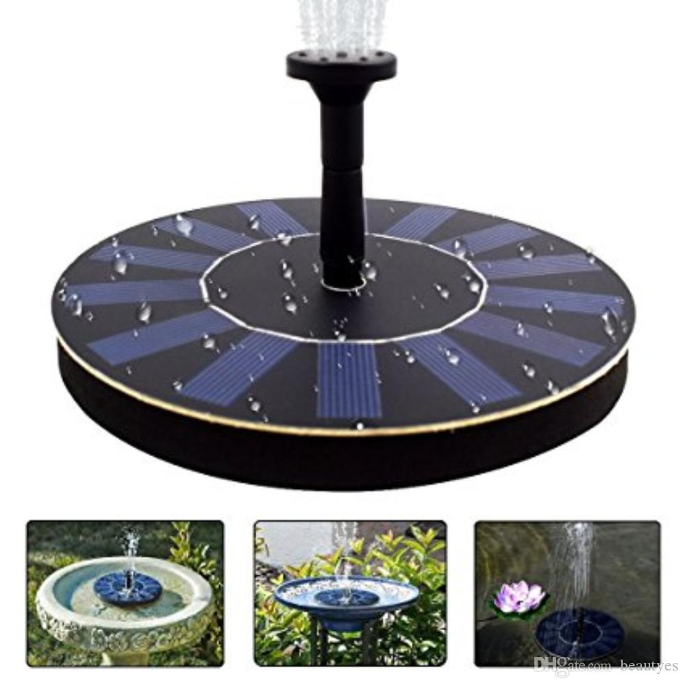 Charming 2018 Solar Water Pump Power Waterpomp Panel Fountain Floating Solar Powered  Garden Water Fountain Pump For Pond From Beautyes, $381.91 | Dhgate.Com