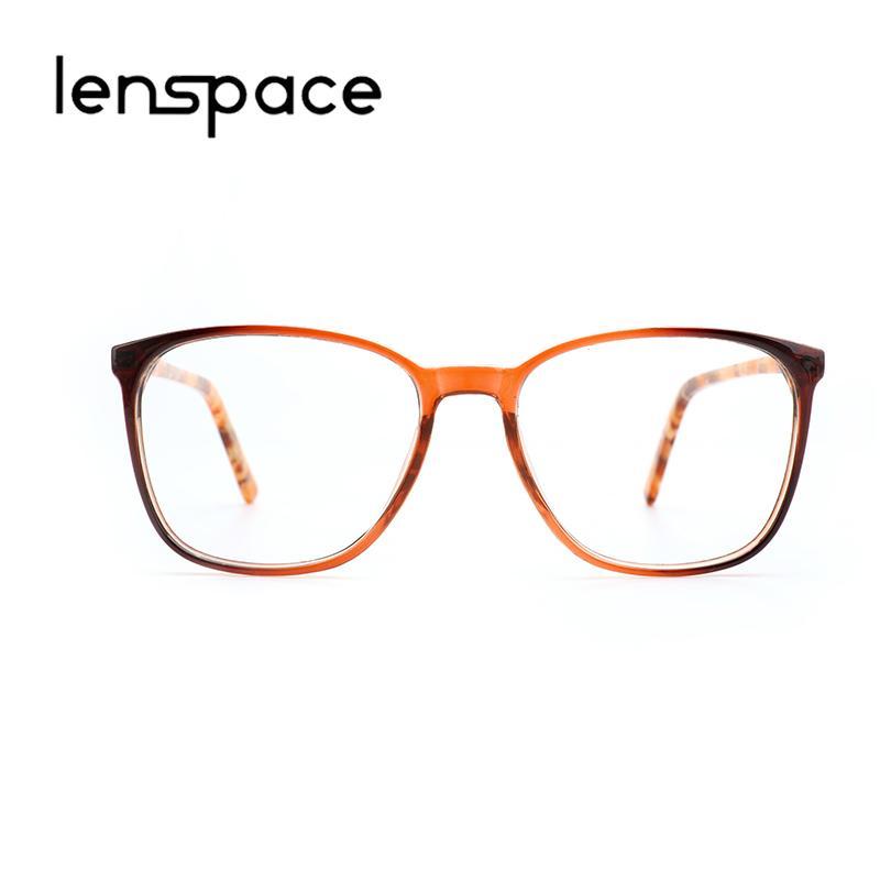c7f05d719c6 2019 2018 Acetate Frame Eyeglasses Women Retro Big Square Computer Clear  Lens Vintage Transparent Lady Glasses Frames For Female 8205 From Gunot