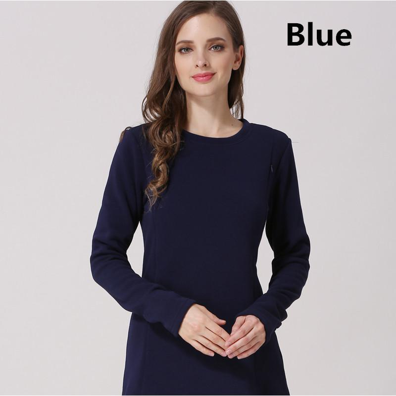 c0ee20c2d75ae 2019 Emotion Moms New Long Sleeve Maternity Clothes Cotton Winter Nursing  Top Breastfeeding Tops For Pregnant Women Maternity Fashion T Shirt From  Sport_xgj ...