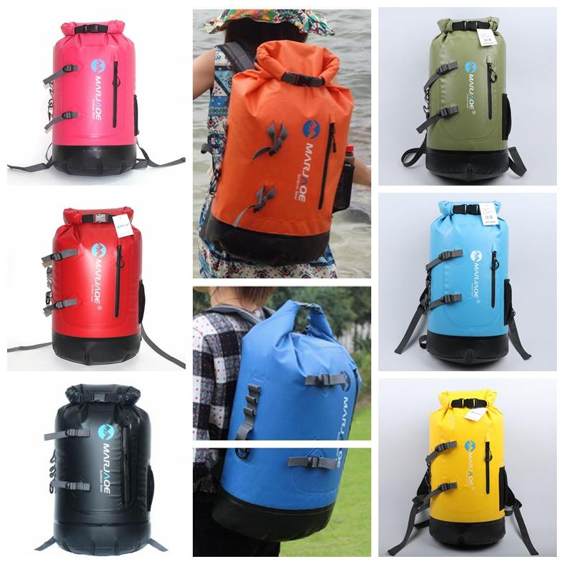 20L 30LWaterproof Backpack Drifting Dry Bag Outdoor Camping Kayaking  Rafting Hiking Bag Day Pack Barrel Bag DDA726 Dry Storage Rafting  Waterproof Backpack ... d7855d63e1c12