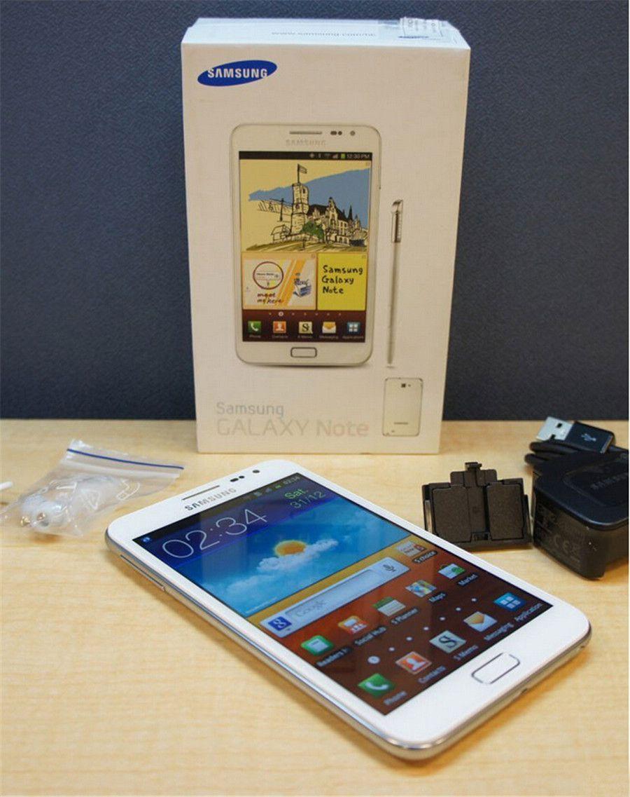 Original Refurbished Samsung Galaxy Note N7000 5.3 inch Dual core 1GB RAM 16RM ROM 8MP 3G Unlocked Android Mobile Phone Free DHL