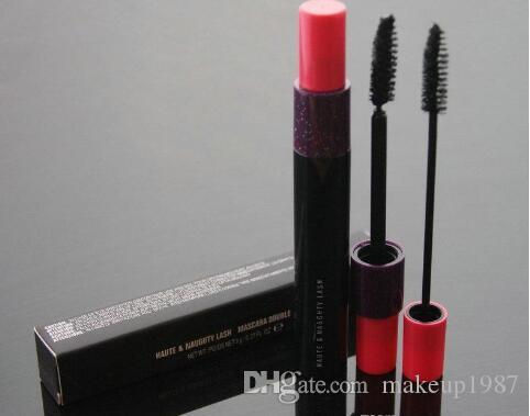 Высокое качество Глаза Косметика Макияж Бренды HauteNaughty Black Lash Mascara Volume Двойной Effet 9g Бесплатная доставка
