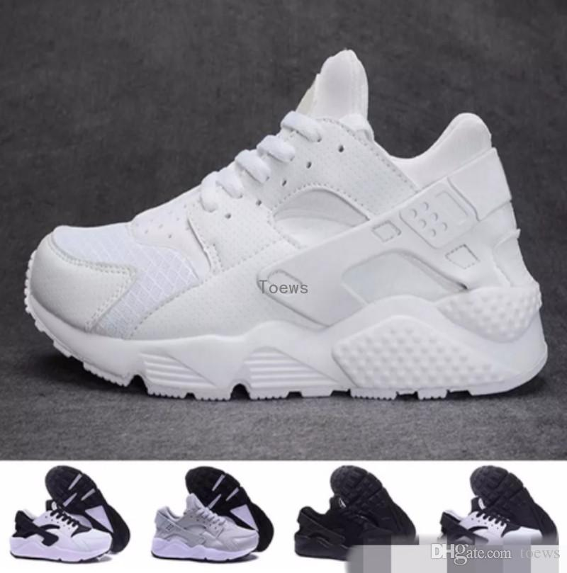 f41c84d471916 2019 Wholesale Cheap Air Huarache I Running Shoes For Men Women Grey White  Black Gold Sneakers Huaraches Athletic Huaraches Sport Shoes 36 45 From  Toews