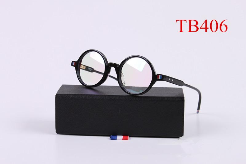 7e40f5d4dd TB406 High Quality Retro Round Glasses Frame For Men And Women Myopia Prescription  Optical Reading Eyeglasses Glasses Frame Repair How To Choose Eyeglass ...
